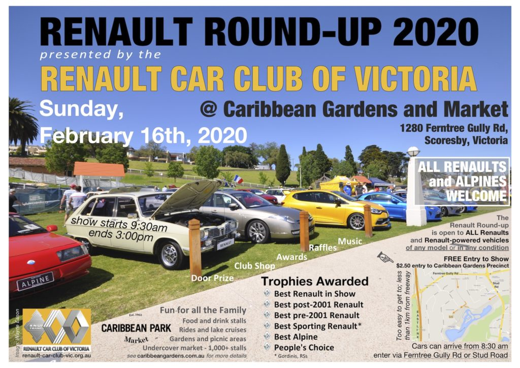 Renault Round-UP 2020 flyer